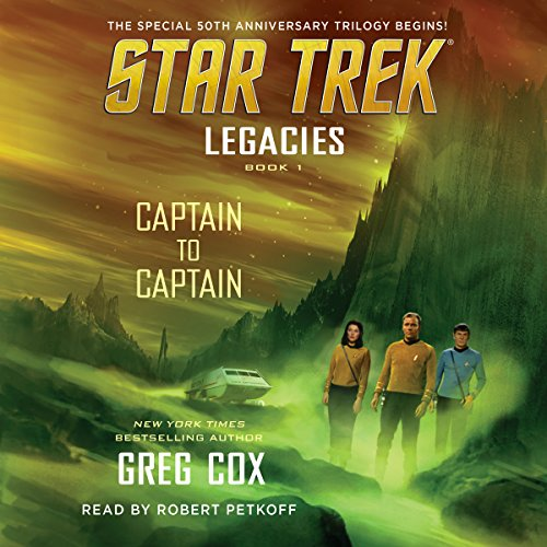 Captain to Captain     Star Trek Legacies, Book 1              By:                                                                                                                                 Greg Cox                               Narrated by:                                                                                                                                 Robert Petkoff                      Length: 9 hrs and 40 mins     913 ratings     Overall 4.2
