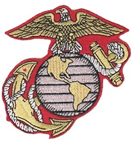 U.S. Marine Corps Globe and Anchor 4' EGA Embroidered Patch