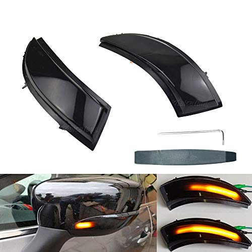 Links Rechts Spiegelblinker Dynamische LED Blinkerleuchten Blinker für Clio IV MK4 BH RS Grandtour KH 2012-2016, mit E-Prüfzeichen