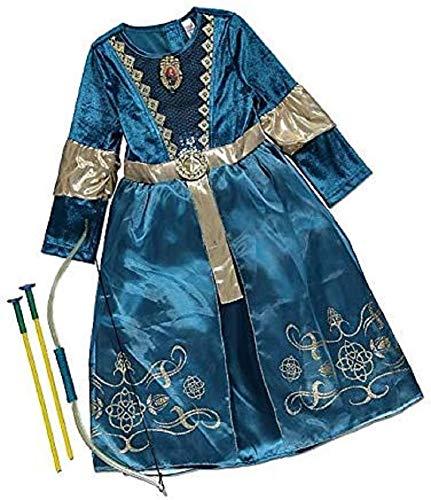 Girls Disney Princess Merida Costume Dress up Various sizes (9-10 Years)