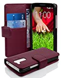 Cadorabo Book Case works with LG G2 MINI in PASTEL PURPLE -