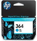 HP 364 Blau Original Druckerpatrone für HP Deskjet 3070A, 3520; HP Photosmart 5510, 5515, 5520, 5525, 6510, 6520, 7510, 7520, C5324, C5380, C6324, C6380, B8550, D5460; HP Officejet 4620, 4622