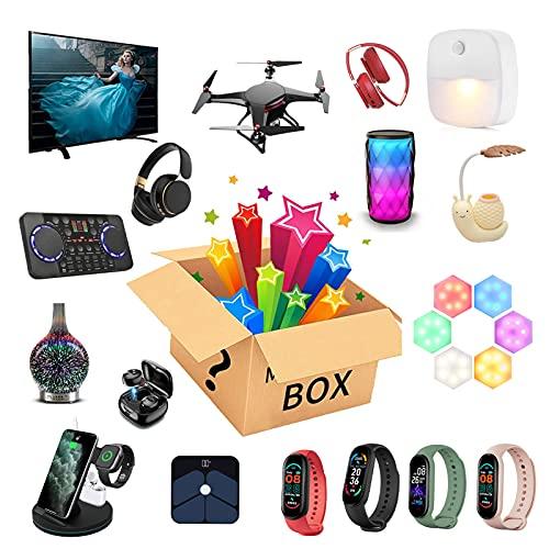 JEDNF Electronics Mystery Box, Blind Box Beauty Surprise Box, Compleanno Fortunato Scatola a Sorpresa Stile Casuale Esplora Regali sconosciuti per Amici familiari da Solo
