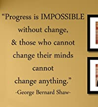 Best progress is impossible without change Reviews
