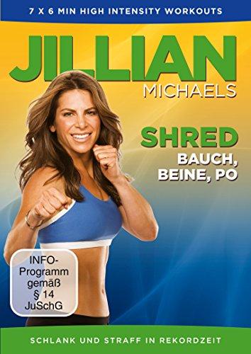 Jillian Michaels - Shred: Bauch, Beine, Po