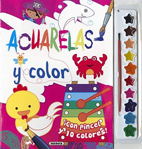 Acuarelas y color