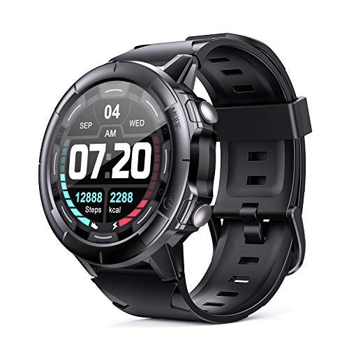 Arbily Smartwatch Orologio Fitness Tracker con Touch Screen Completo, Cardiofrequenzimetro, Monitoraggio del Sonno e Impermeabile 5 ATM, Smart watch per Donna, Uomo, Bambini