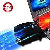 KLIM Tornado V2 - Nouva Versione 2019 - Raffreddatore per Laptop – Innovativo – Raffreddamento Rapido - Dissipatore di Calore USB - Leggero + Potente + Effettivo Contro Il Surriscaldamento
