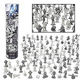 SCS Direct Space and Astronaut Toy Action Figures - 102 Figurines w 11 Unique Sculpts