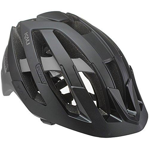 Kali Protectives Interceptor Casque de vélo Mixte Adulte, Noir/Gris, Taille S-M