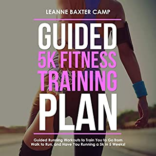 Guided 5K Fitness Training Plan audiobook cover art
