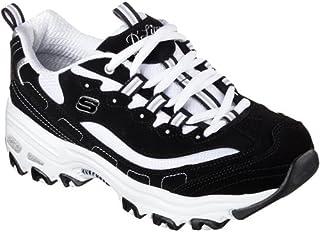 SKECHERS(スケッチャーズ)スニーカー ディーライト ビッゲスト ファン D LITES-BIGGEST FAN シューズ 靴 レディース 23.5cm BKW-ブラック/ホワイト 11930-235-BKW