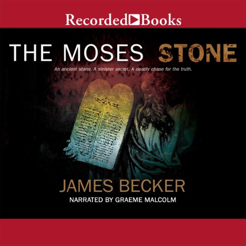 The Moses Stone audiobook cover art