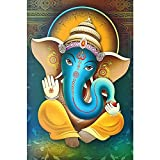 DIY 5D Diamond Painting Kits for Adults,Full Round Drill Dots Art Crafts Kit Canvas Painting Cross Stitch Embroidery Hindu Gods Rhinestone Picture(Canvas Size: 11.8 X 15.75 Inch)