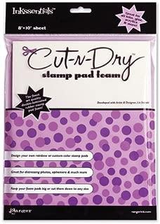 Inkssentials Cut-N-Dry Stamp Pad Foam- 1 pcs sku# 627443MA