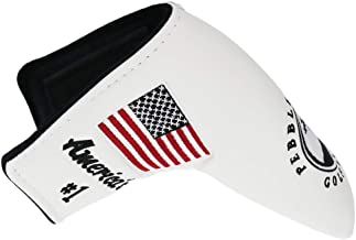 HISTAR Pebble Beach American Flag Blade Putter Headcover for Scotty Cameron Ping