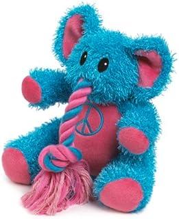 Zanies Plush Rope Trunk Tugger Dog Toy, 8-Inch, Blue