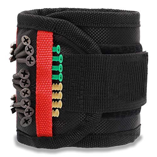 Magnetisches Armband, Geschenke für Männer oder Papa, Magnetarmband Handwerker mit 15...