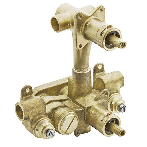 Moen 3330 M-PACT Moentrol Pressure-Balancing Volume-Control 3-Function Transfer Shower Valve, 1/2-Inch CC