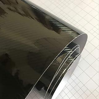 Ultraglänzende 5DCarbonfaserVinylfolie 3DTextur Superglänzende 5DCarbonfolie mit einer Größe von 50 cm x 300 cm