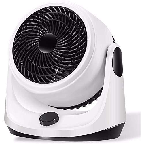 Portátil Calefactor Eléctrico, Mini Calentador de Ventilador, Personal Ventilador Calefactor Eléctrico PTC Cerámica, Oscilación Automática Calefactor Aire Frio y Caliente para Hogar Oficina,Blanco