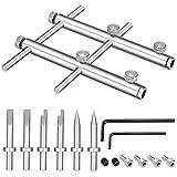 Neewer Herramientas Reparación Apertura de Lentes de Cámara Kit 10-100mm Lente Set para Cámara DSLR
