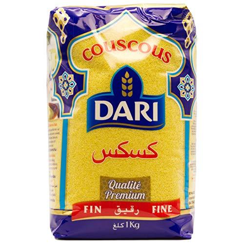 Dari - Premium Couscous Fein - Kuskus aus Marokko in 1 kg Packung