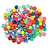 Schramm® 100 Piezas de Bolas de Rebote Coloridas Bolas de Rebote Mixtas de...