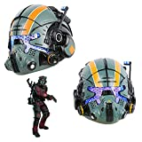 Jack Cooper Helmet for Titanfall LED Mask Deluxe Glow Eyes Mask Cosplay Costume Halloween Decorations