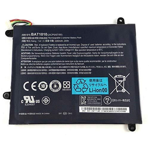 Szhyon 7.4V 3260mAh BAT-1010 Laptop Battery Fit for Acer Iconia Tablet A500 A501 A500-10S32u A500-10S16u BAT1010 BAT 1010 Tablet