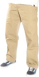 بناطيل Dickies الرجالية 67 عادية من نسيج قطني مضلع STR رملي الصحراوي، 34 × 32