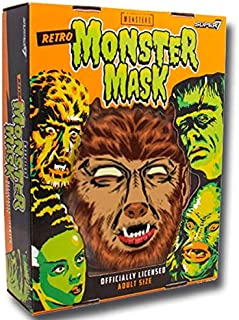 Super7 Universal Monsters The Wolfman Retro Monster Mask