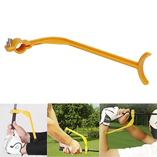 Gusspower Golf Trainingshilfe Schwungtrainer, Golfschwung Werkzeuge zur Schwungkorrektur, Swing Trainer Handgelenk Arm Corrector Control Geste