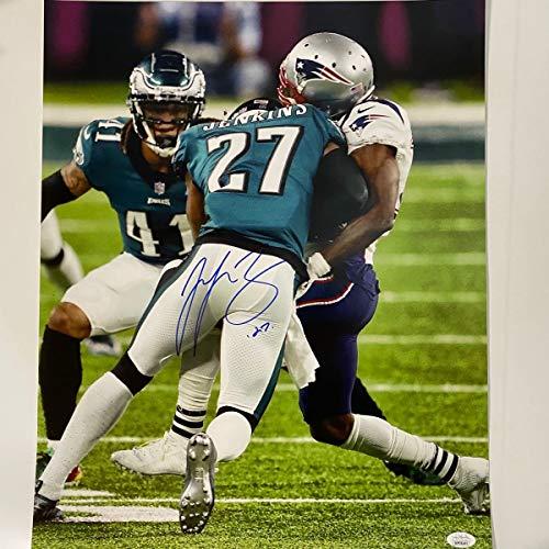 Autographed/Signed Malcolm Jenkins Philadelphia Eagles Super Bowl LII 52 Hit Champions 16x20 Football Photo JSA COA #3