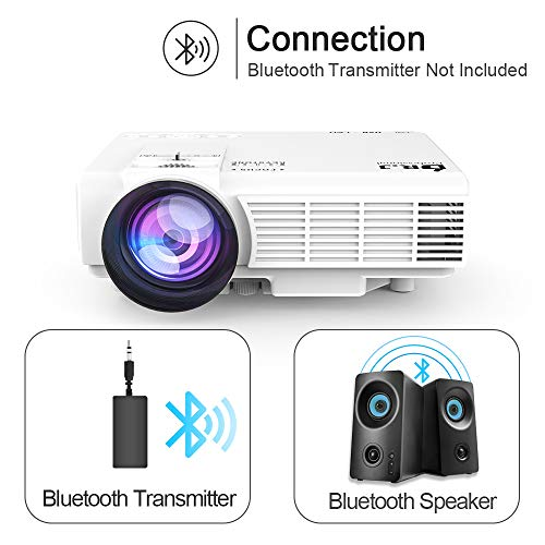 Bluetooth Transmitter Receiver for Projector Connection to Bluetooth Speaker Headphone