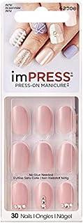 Kiss imPress Short Length Oval Nails 62308 Next Wave