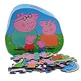 Barbo Toys Puzzle de Peppa Pig Para Niños a Partir de 2 Años|Estimula la Memoria y las Habilidades Motoras|Contiene 24 Piezas |Licenciado Oficialmente: Puzle (BASE TOYS)