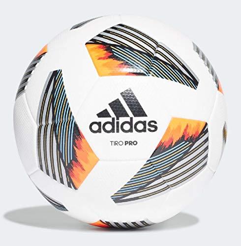 Adidas Tiro Pro TMLGBL/SI 5 - Balón de competición, Color Blanco y Negro