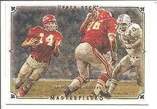 Ed Podolak Kansas City Chiefs 2008 Upper Deck Masterpieces Football Card #30