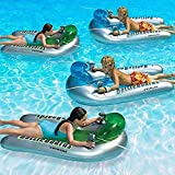 Swimline Battleboards Squirter Set Swimming Pool Floating Game, 2 Pack