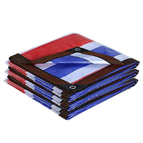 LWH Bâche Polyester Imperméable Convient Aux Voitures, Navires, Campeurs Et Abris d urgence. Anti-Corrosion, Anti-Rouille, Anti-Ultraviolet (100g   ㎡)
