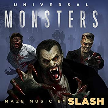Universal Monsters Maze Soundtrack/Halloween Horror Nights 2018