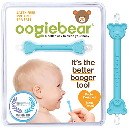 oogiebear - Patented Nose and Ear Gadget. Safe, Easy Nasal Booger and...