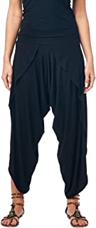 Women's Casual Summer Boho Harem Jogger Pants Gaucho Culottes Made in USA