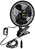 Hopkins SP570804 Go Gear 12 Volt Oscillating Fan