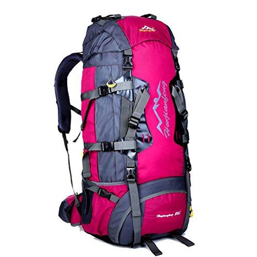 Grande capacité extérieure escalade sac à dos sac système de transport avec sac à bandoulière Voyage en plein air sac à dos d'équitation