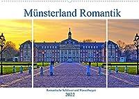 Muensterland Romantik - Romantische Schloesser und Wasserburgen (Wandkalender 2022 DIN A2 quer): Eindrucksvolle Burgen und romantische Schloesser, die schoensten Bauwerke im Muensterland erleben (Monatskalender, 14 Seiten )
