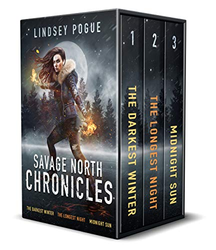 Savage North Chronicles Vol 1: Books 1 - 3: Superhuman Post-Apocalyptic Survival Series (Savage North Chronicles Omnibus) by [Lindsey Pogue]