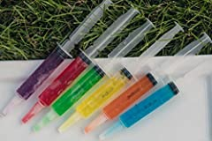 NO LEAKAGE, NO MESS - These syringes for jello shots 1oz come with sturdy plastic caps for easy a leakproof transport. The syringe lid prevents leakage and messy drips, leaving your party venue clean and mess free DURABLE, 100% REUSABLE - These syrin...