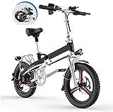 Alta velocidad Plegable bicicleta eléctrica for los adultos, 20' Electric montaña de la bicicleta / conmuta E-bici, montar a caballo de tres modos Assist Alcance Hasta 60-80Km for la ciudad de Tráfico